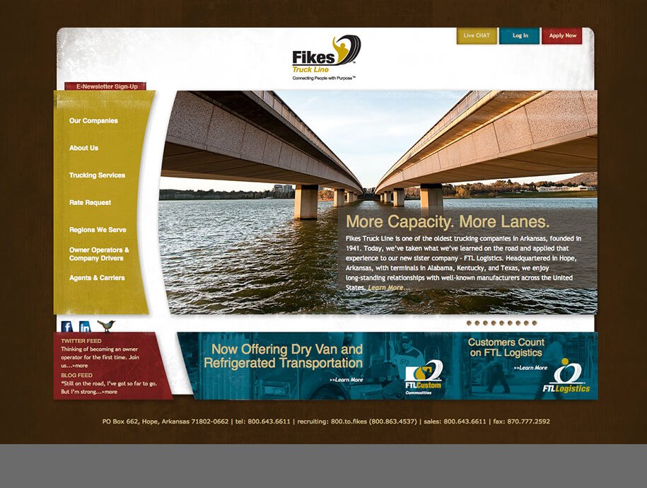 Fikes Truck Lines National Flatbed Specialist Allegory