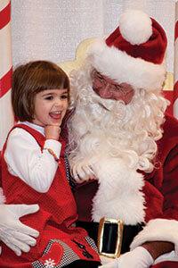 santa-littlegirl