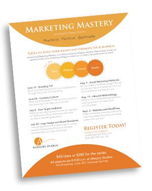 Marketing Mastery Workshop Series