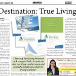 True Living Financial Branding by Allegory Studios